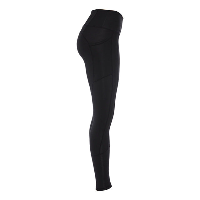 FREECE  with Side Pocket Sports Leggings