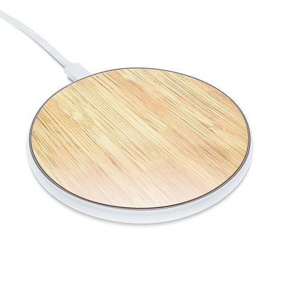 Qi Charger - Light Bamboo