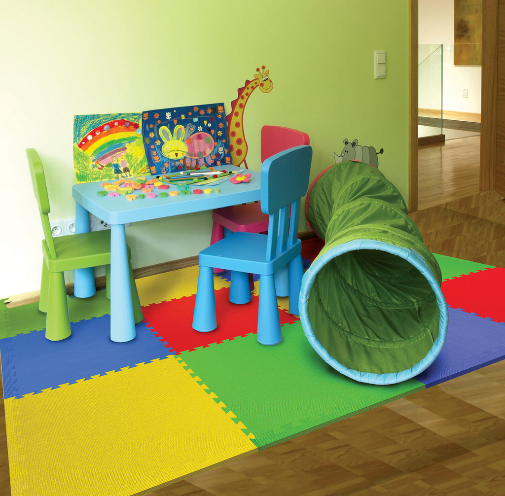 "Primary color foam flooring 21"" Tiles"