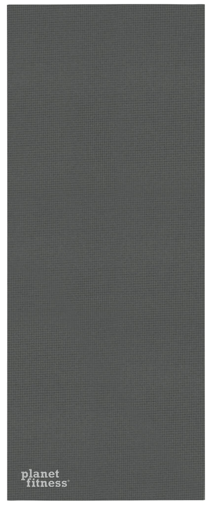 6mm Solid Gray Yoga Mat