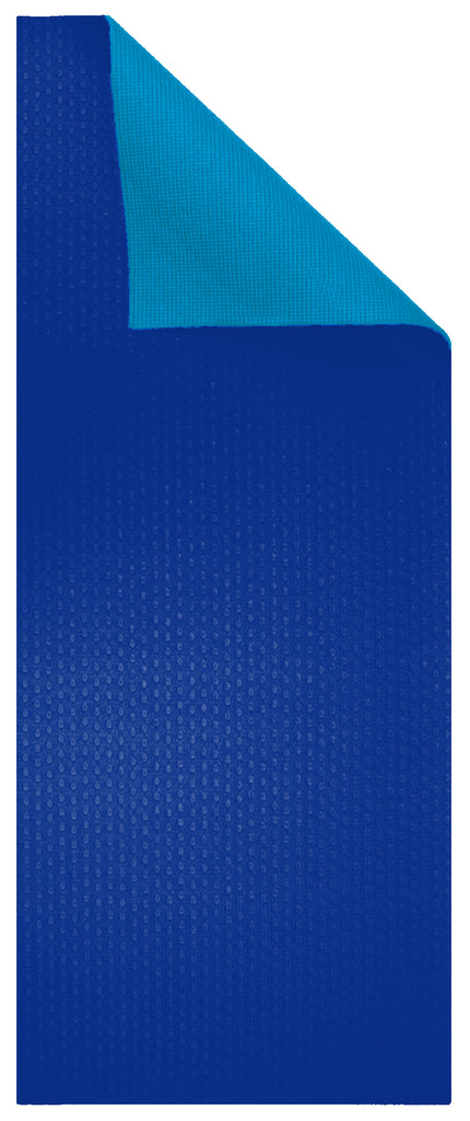 6mm Scuba Blue/Dark Blue Reversible Yoga Mat