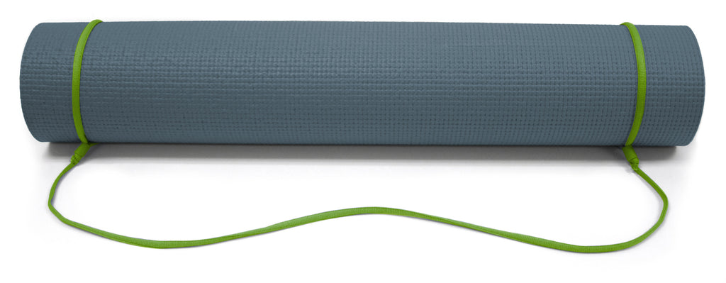 6mm Slate/Green Reversible Yoga Mat