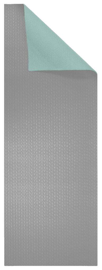 6mm Sea Foam Green/Gray Reversible Yoga Mat