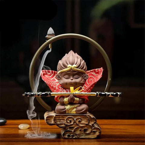 Incense Burner Monkey King