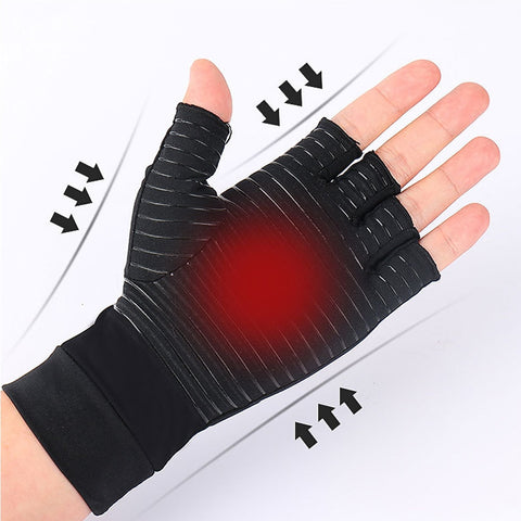 ARTHRITIS COMPRESSION GLOVES (1 PAIR)
