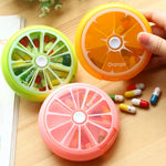 Weekly Rotating Medicine Pill Box