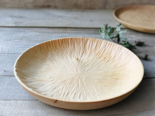 Handcarved linden tray