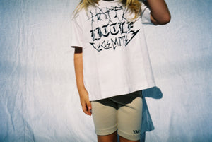HAPPY TEE / WHITE