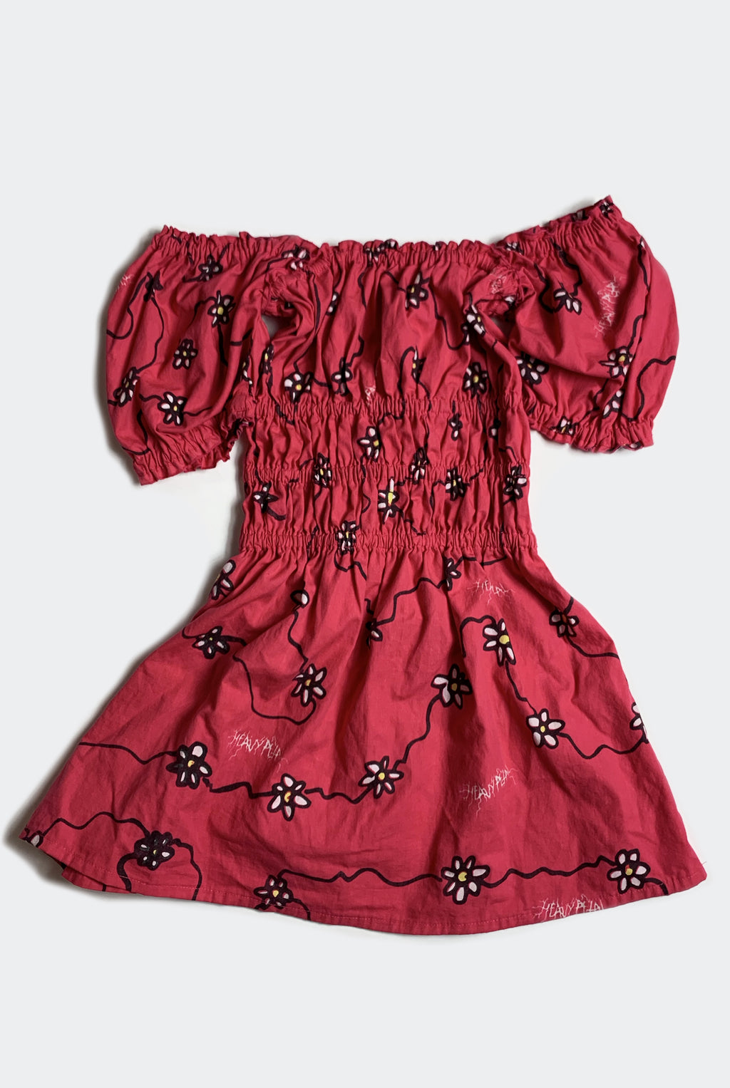 DAISYS LITERALLY DRESS / RED