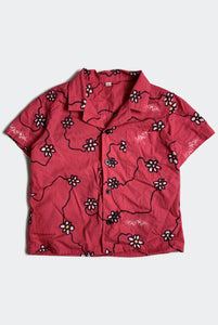 DAISY CHAIN SHIRT / RED