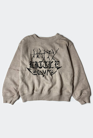HAPPY SWEATSHIRT / WASHED TAN PREORDER