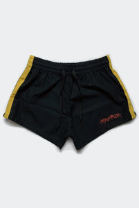 OFF TRACK SHORTS / BLACK