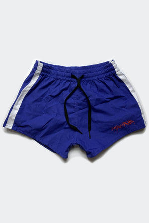 OFF TRACK SHORTS / BLUE