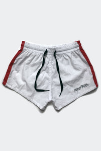 OFF TRACK SHORTS / WHITE