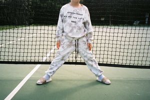 LEISURE FOREVER SWEATPANT / SAND TIE DYE