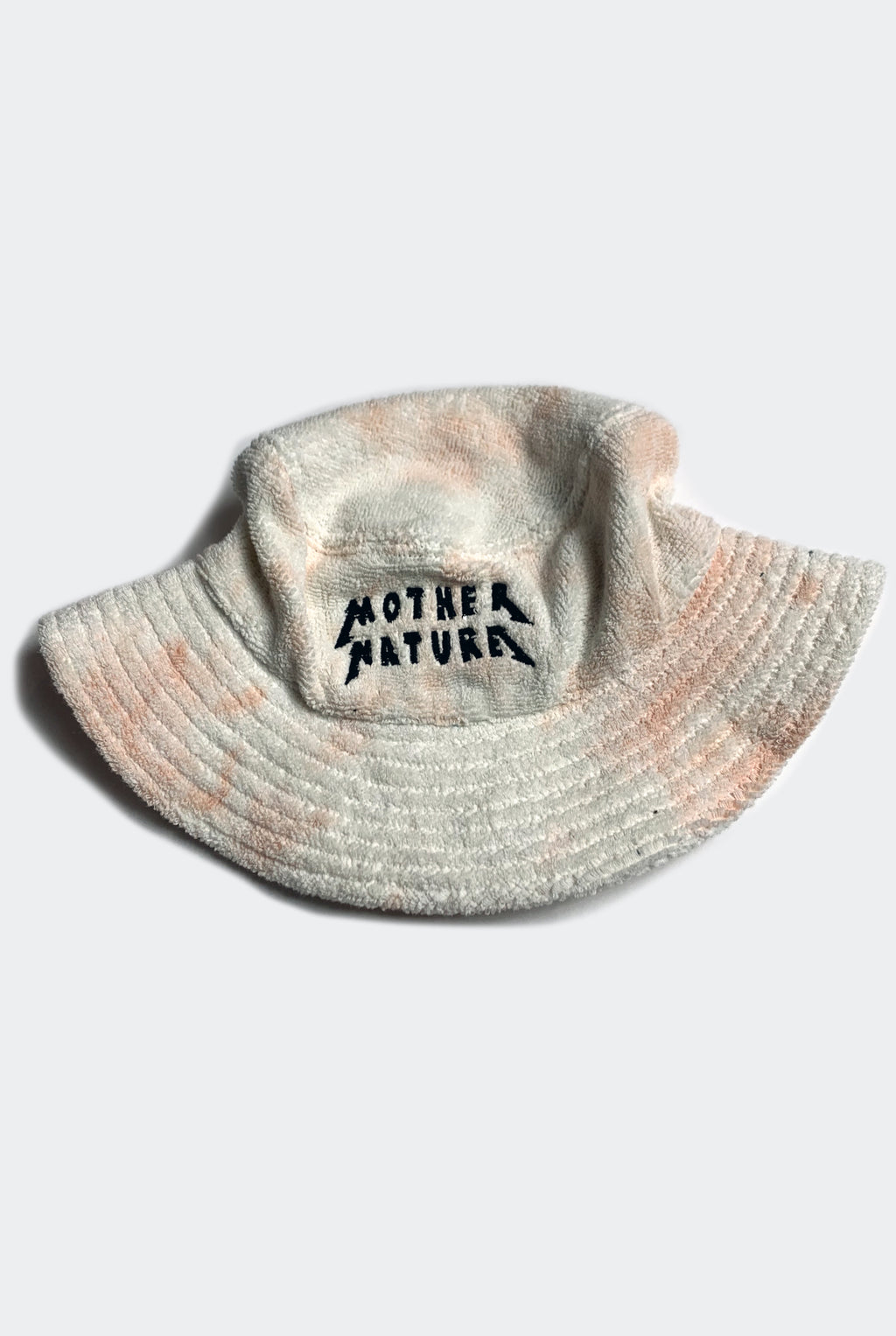MOTHER NATURE HAT / PEACH TIE DYE