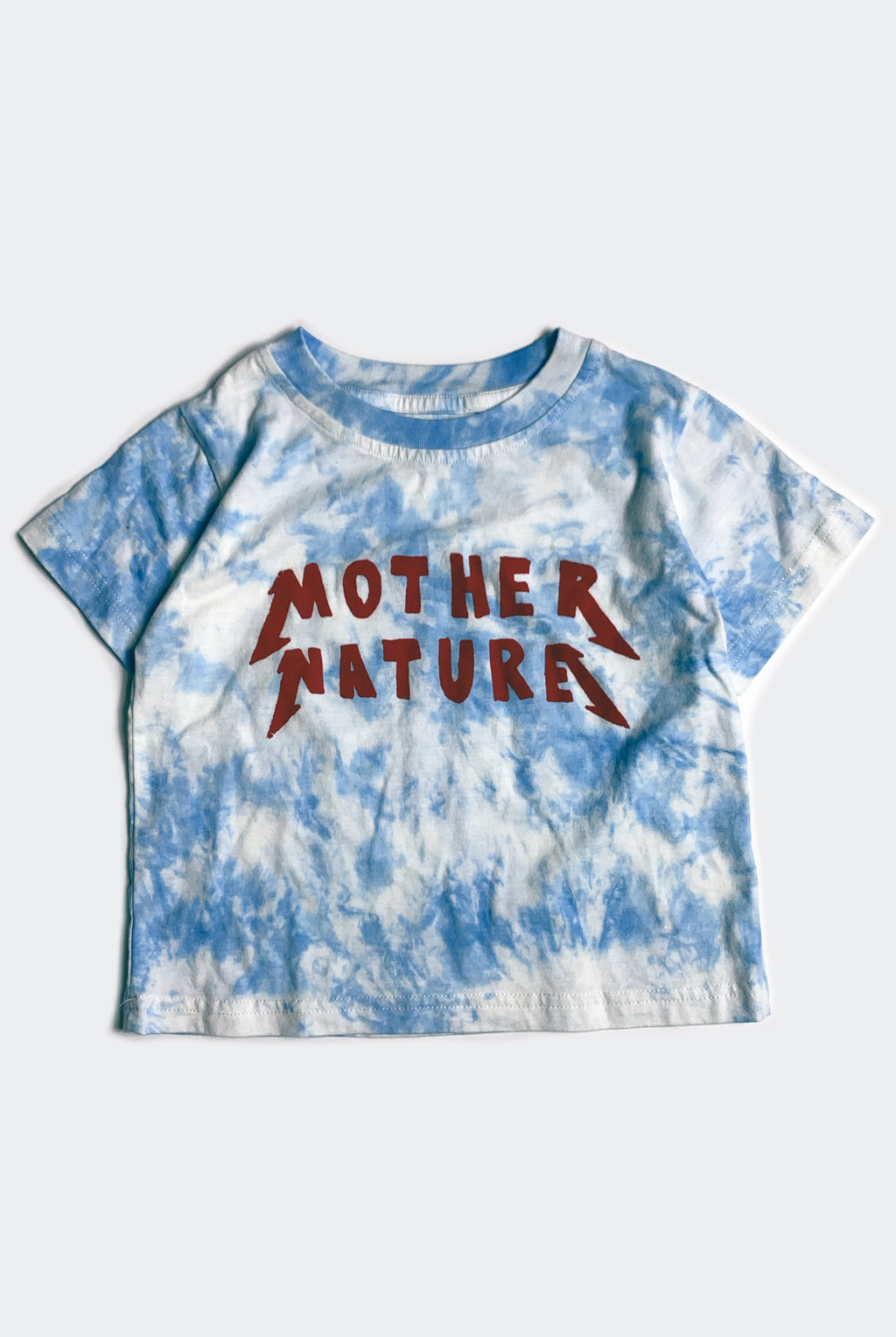 MOTHER NATURE TEE / SKY TIE DYE