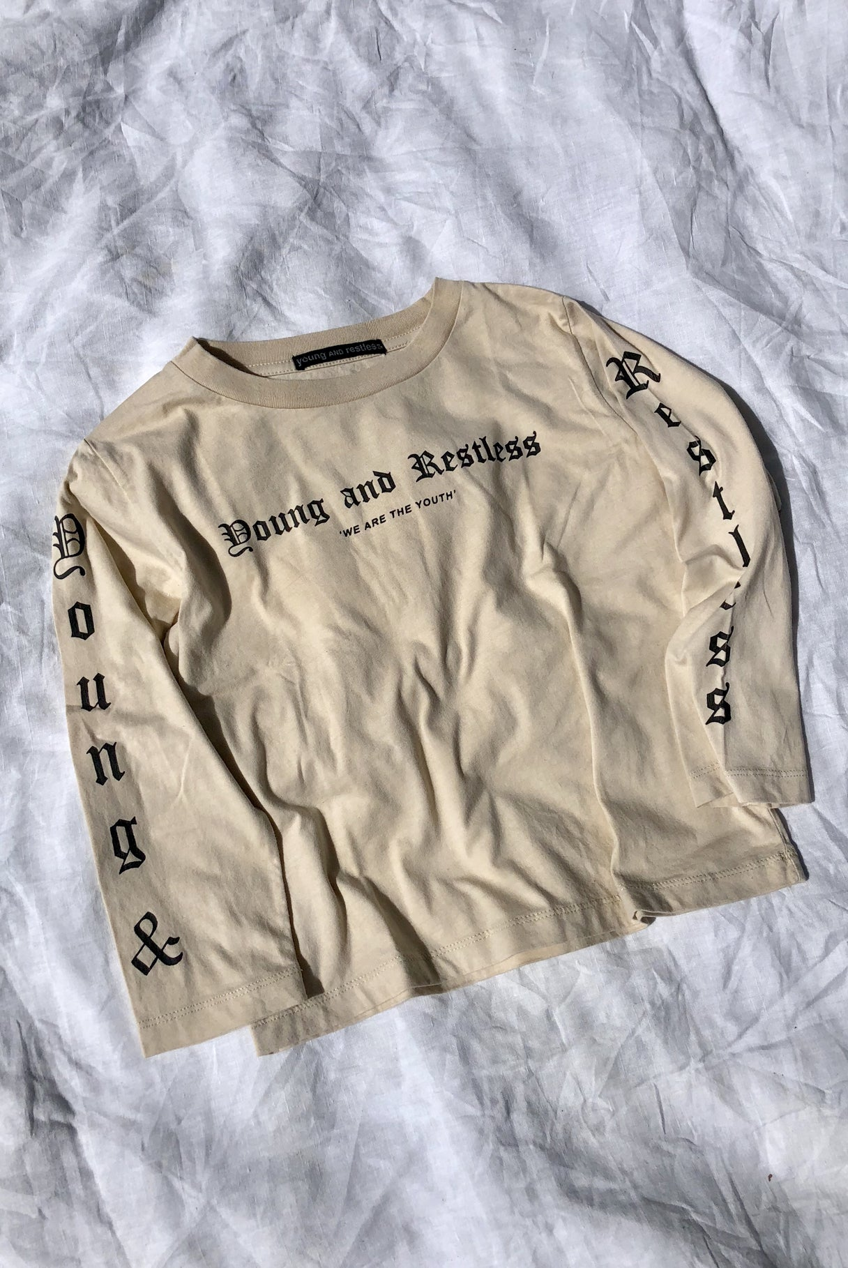 SEA SHELLS L/S TEE / TAN
