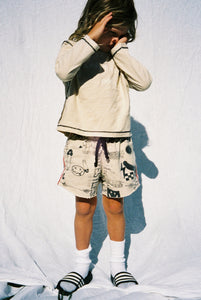 YOUTH SWEAT SHORT / TAN