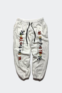 WE ARE THE YOUTH SWEATPANT / NATURAL