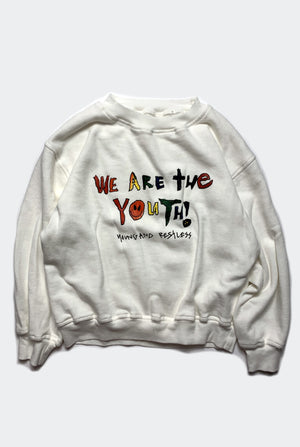 WE ARE THE YOUTH SWEATER / NATURAL