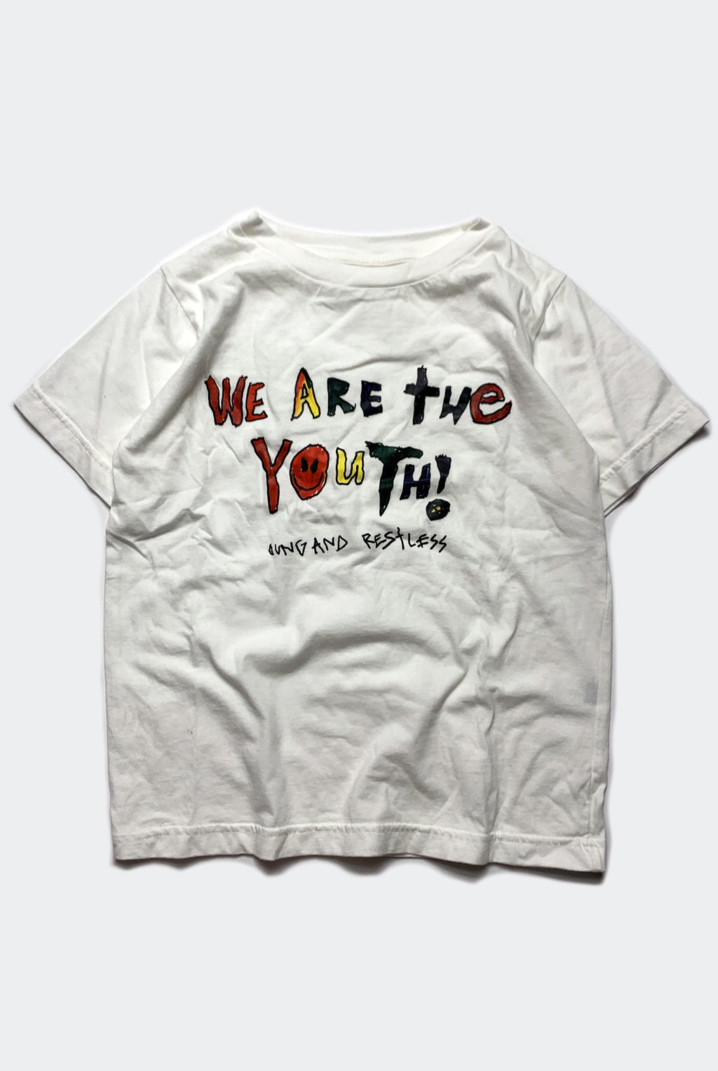 WE ARE THE YOUTH TEE / WHITE