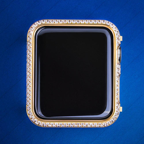Luxury 14K Gold iWatch Cover for iWatch Series 3/2/1