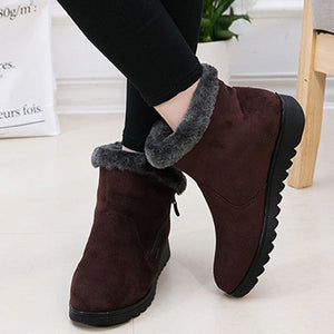 Warm Middle-Aged Cotton Snow Boots
