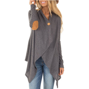 Ecogora Women's Plain Long Sleeve Cardigans