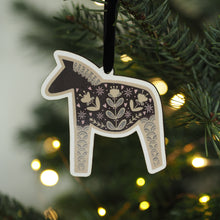 Load image into Gallery viewer, Dala Horse Christmas Decoration