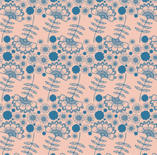 Load image into Gallery viewer, Fan Floral coordinate no.1