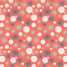Load image into Gallery viewer, Fan Floral Coordinate 2