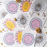bee kind, I believe in you, oh yes you can | postcards | set of 3 | stationery | motivational art