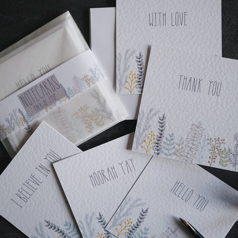 sprigs | notecard pack of 5