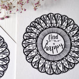 find your happy | A4 art print