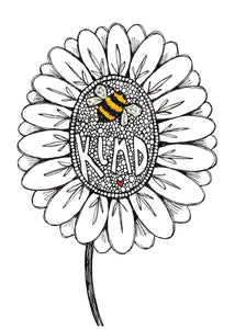 BEE KIND A5 art print