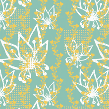 Load image into Gallery viewer, Inked Floral 120518