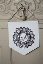 Load image into Gallery viewer, Love Flower - Mini Pennant and Card Set