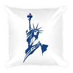Classical Statue Logo Square Pillow