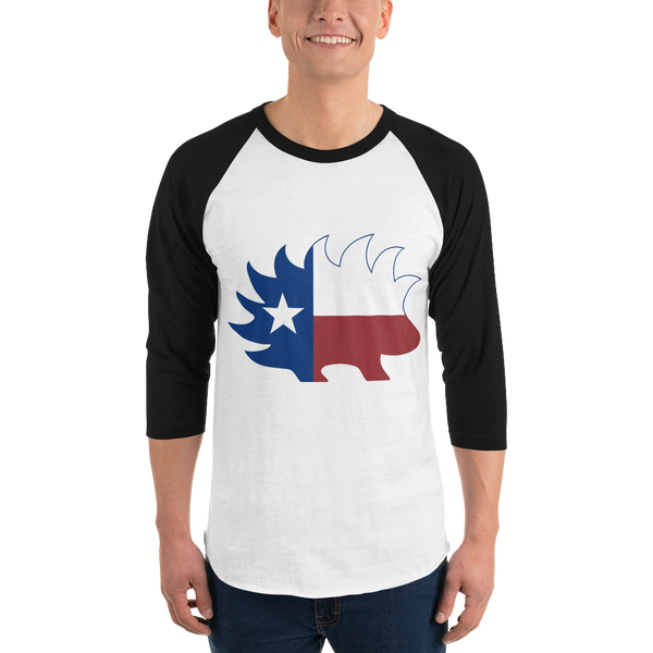 Porcupine Texas Baseball Shirt