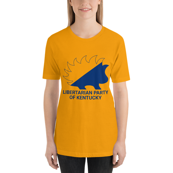 Kentucky LP Porcupine Minarchist Porcupine T-Shirt