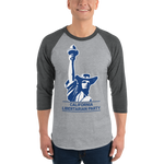 California LP Classical Statue Hat Logo Baseball Shirt