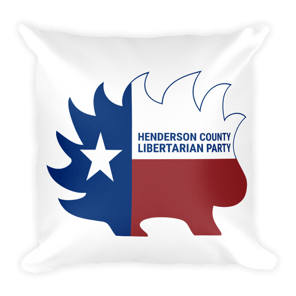 Henderson LP Porcupine Texas Square Pillow