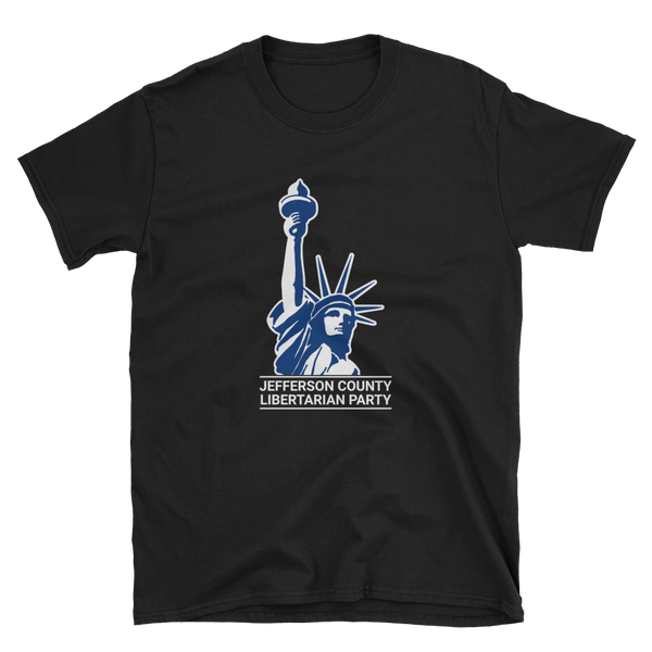 Jefferson LP Classical Statue Logo T-Shirt