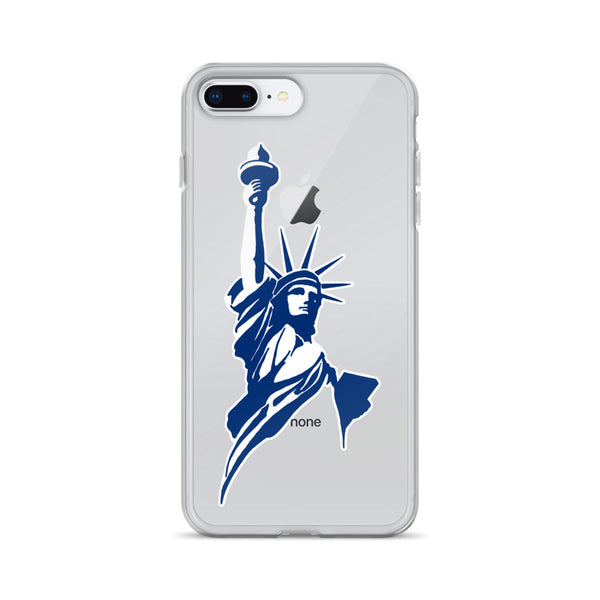 Classical Statue Logo iPhone Case