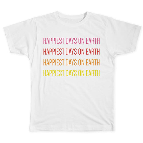 Happiest Days on Earth Adult Tee
