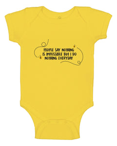 Nothing is Impossible Onesie