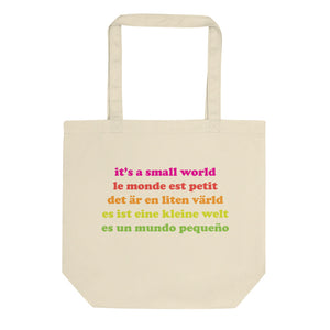 It's a Small World Eco Tote Bag