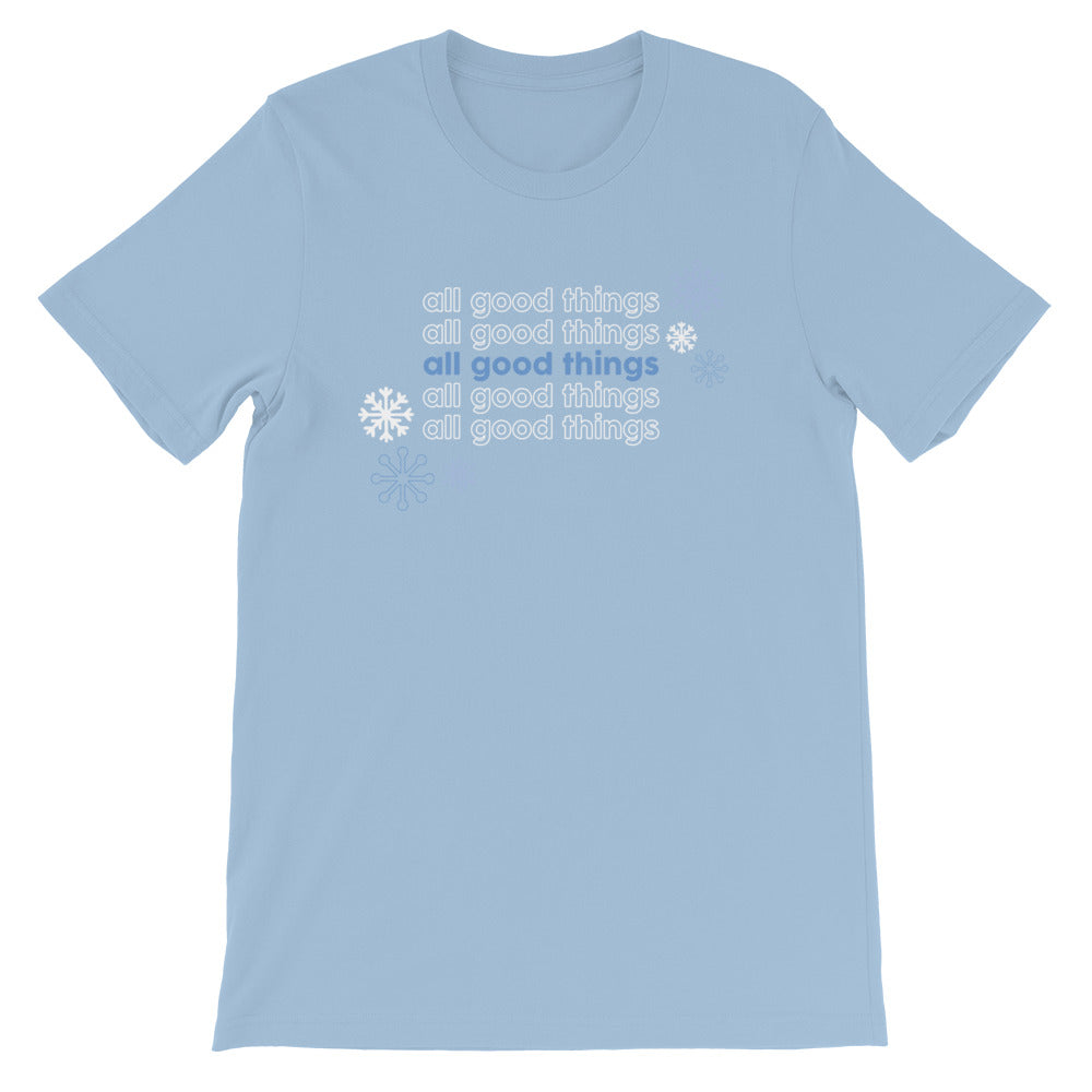 All Good Things Frozen Adult Tee