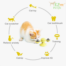 Load image into Gallery viewer, cat-windmill-benefits-toy-for-cat
